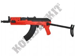 SRC SR47D Sportline AK47 Electric AEG Airsoft BB Machine Gun 2 Tone Black Orange